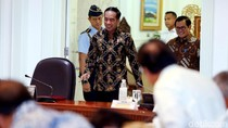Jokowi Pimpin Ratas Evaluasi Proyek Strategis Nasional