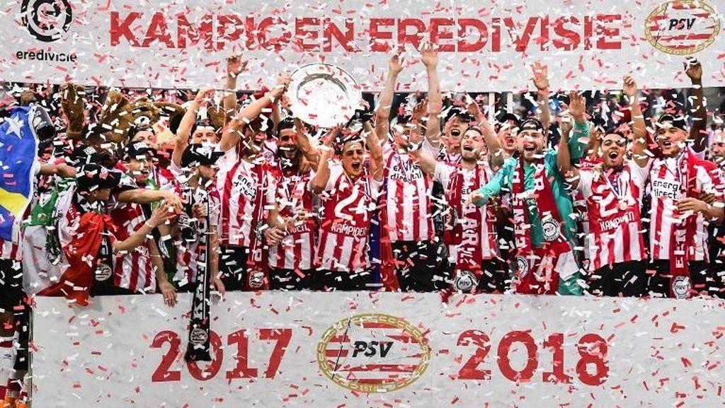 PSV Eindhoven Raih Gelar Juara Liga Belanda ke-24