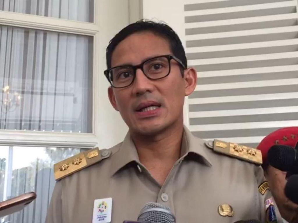 Ada Acara Relawan Jokowi di CFD, Sandi Tunggu Laporan Panwaslu