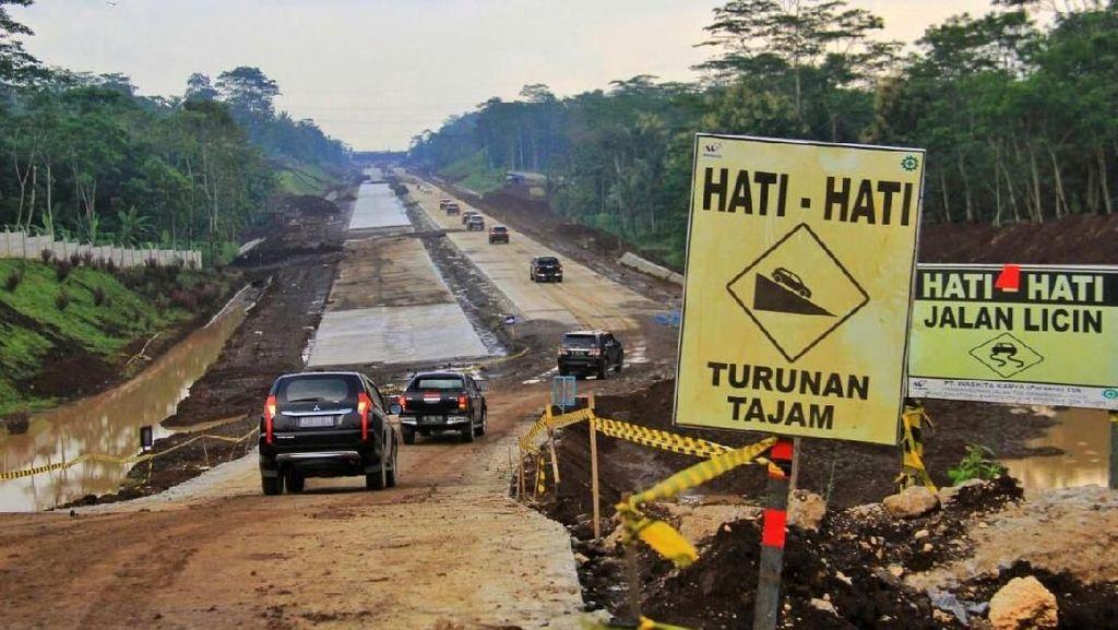 Jembatan Kali Klenteng Pemecah Macet Mudik di Salatiga Terus Dikebut