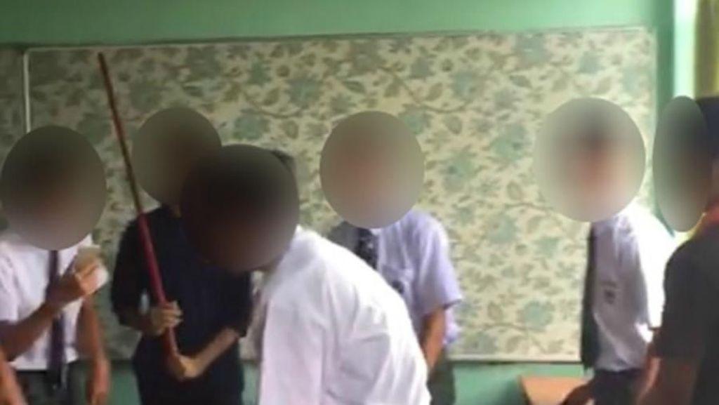 Viral Siswa Dipukuli Teman untuk Rayakan Ulang Tahun