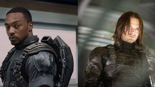 Antara Falcon atau Bucky Barnes bakal menggantikan Steve Rogers sebagai Captain America