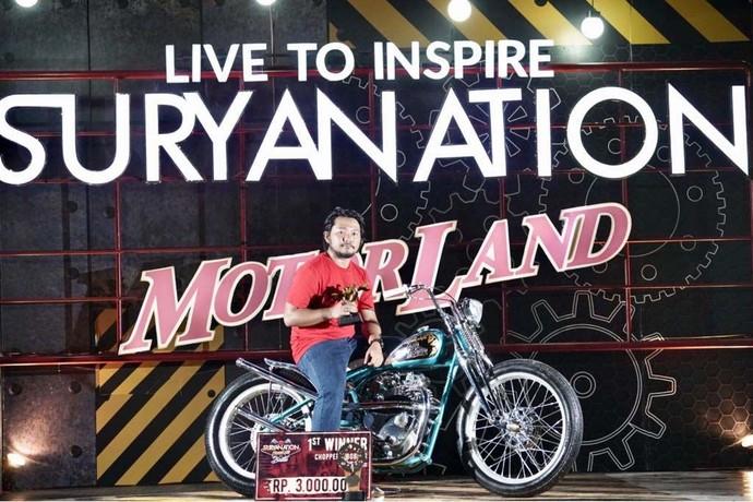 Ini Jawara Suryanation Motorland Battle 2018 Palembang