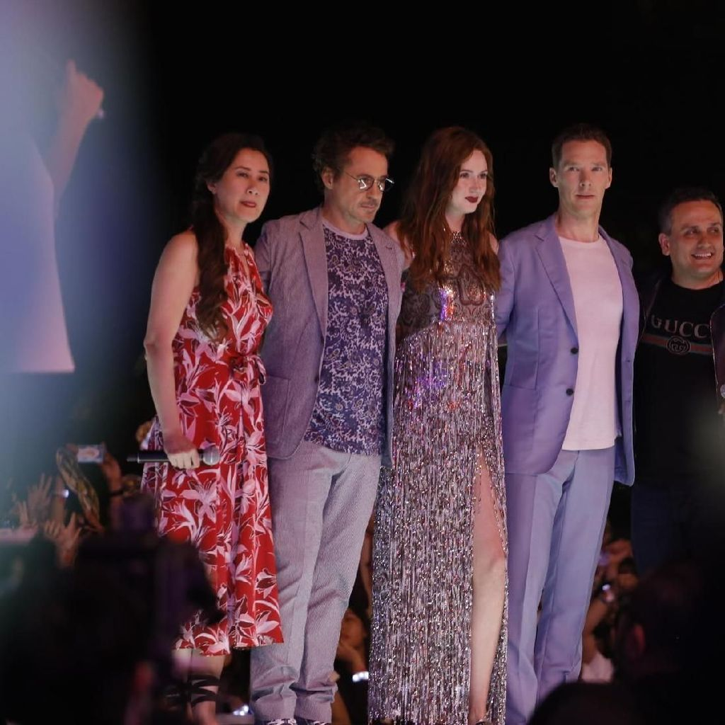 Benedict Cumberbatch Sebut Robert Downey Jr Saudara Seberewok