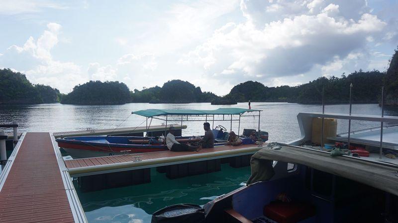 Piaynemo merupakan salah satu tempat ikonik yang berada di kawasan Raja Ampat, Papua Barat (Shinta/detikTravel)