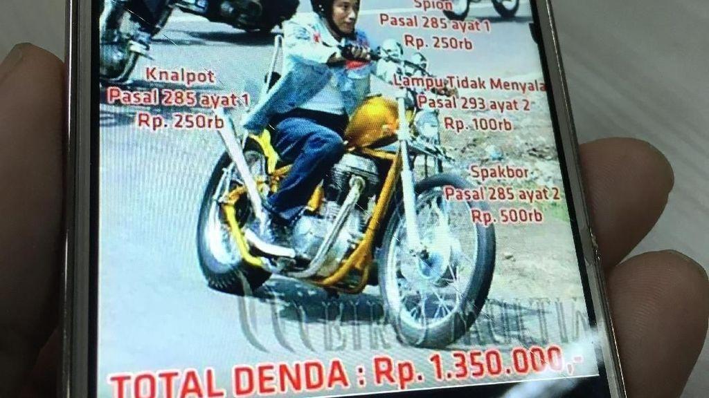 Ada Meme Pelanggaran Lalu Lintas Motor Jokowi, Ini Kata Polisi
