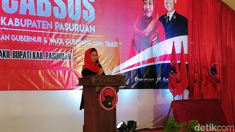 PDIP Pasuruan Janjikan Kemenangan 80 Persen untuk Gus Ipul-Puti