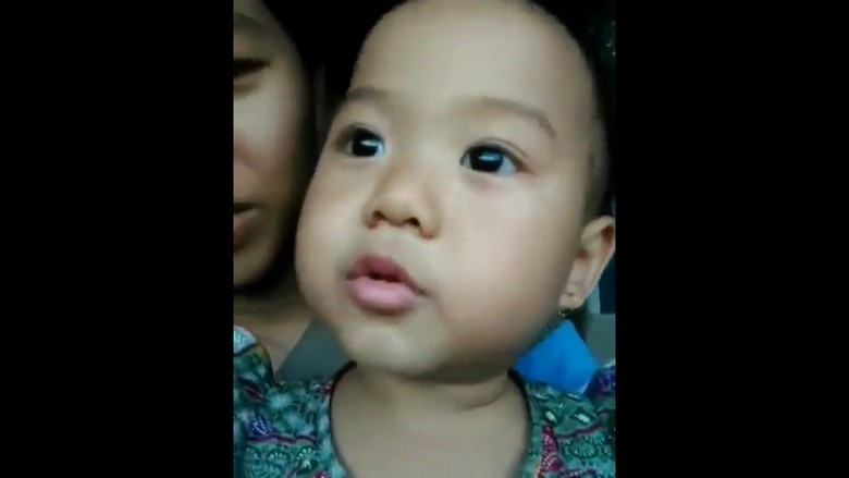 Selain Pancasila, Balita Velyn Juga Hafal Indonesia Raya