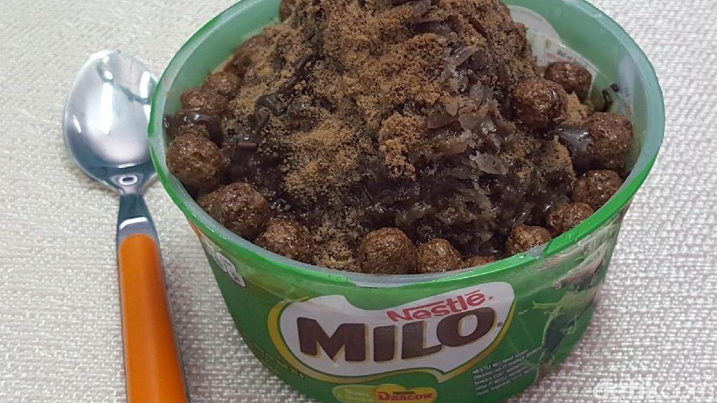 Resep Ramadan : Ais Kepal Milo