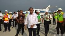Naik Jet, Budi Karya Tiba di Bandara Kertajati