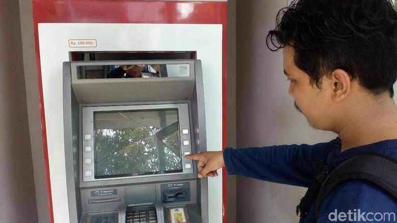 ATM BRI di Mojokerto Dirusak, Polisi: Pelaku Satu Orang