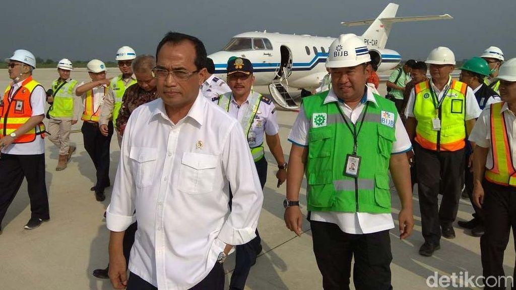 Menhub: Presiden Datang untuk Pastikan Bandara Kertajati Selesai
