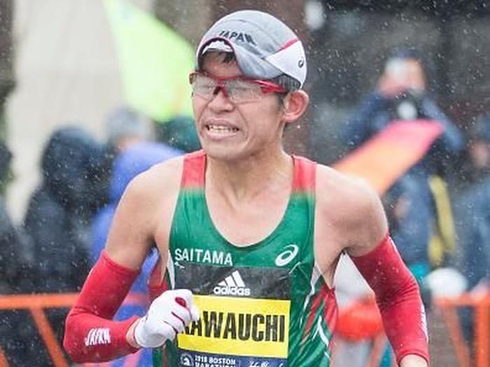 Yuka Kawauchi seorang pegawai kantoran yang menang lomba maraton. Foto: Getty Images