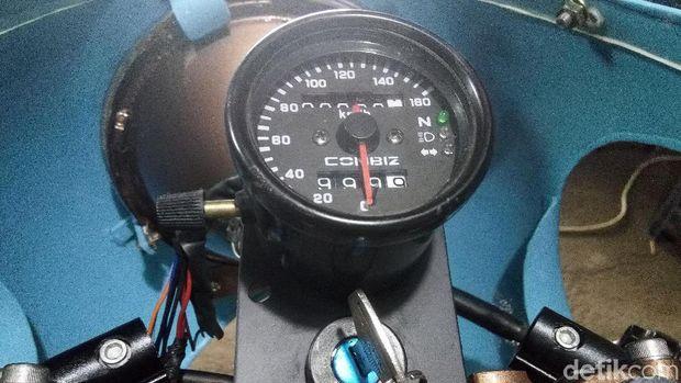 Speedometernya tetap jadul