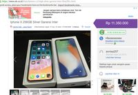 Penipuan iPhone di OLX