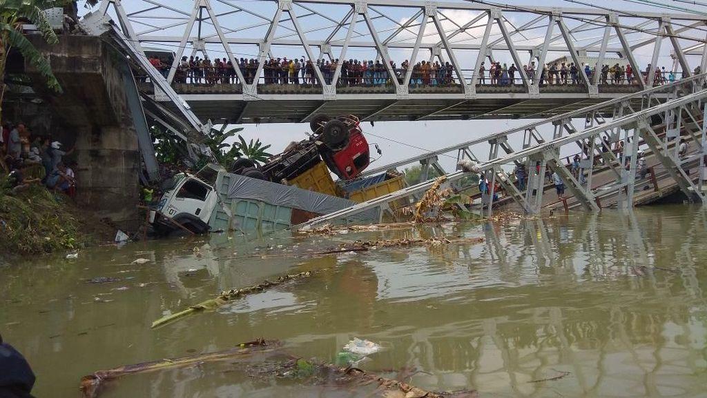 Jembatan Babat yang Ambrol Terakhir Dirawat Tahun 2017