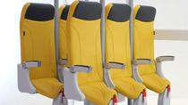Desain Kursi Pesawat Masa Depan, Terlihat Seperti Berdiri