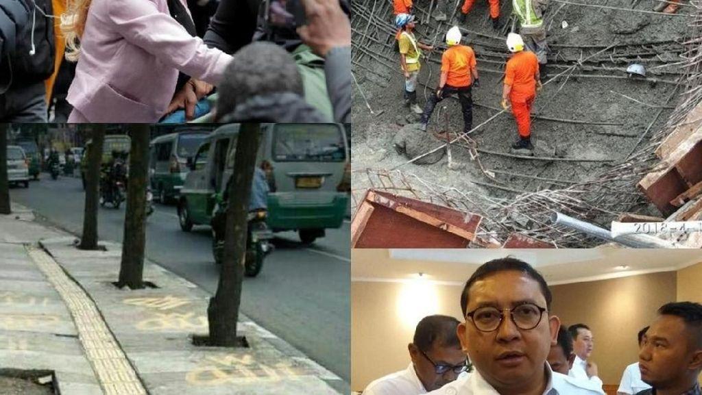 Berita Heboh: Tagihan Listrik Fadli Zon, Jembatan Babat Ambrol