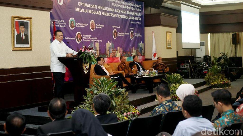 Bamsoet: RUU Pembatasan Transaksi Tunai Disahkan Sebelum Pilpres