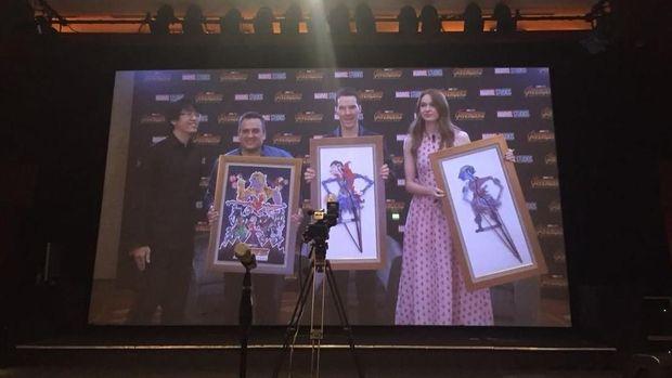 Komikus Is Yuniarto Ciptakan Wayang Avengers