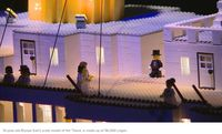Keren! Bocah dengan Autisme Ini Bikin Replika Kapal Titanic dari Lego