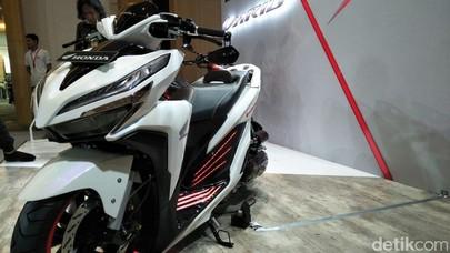 Si Putih Honda Vario Low Rider Nan Futuristik