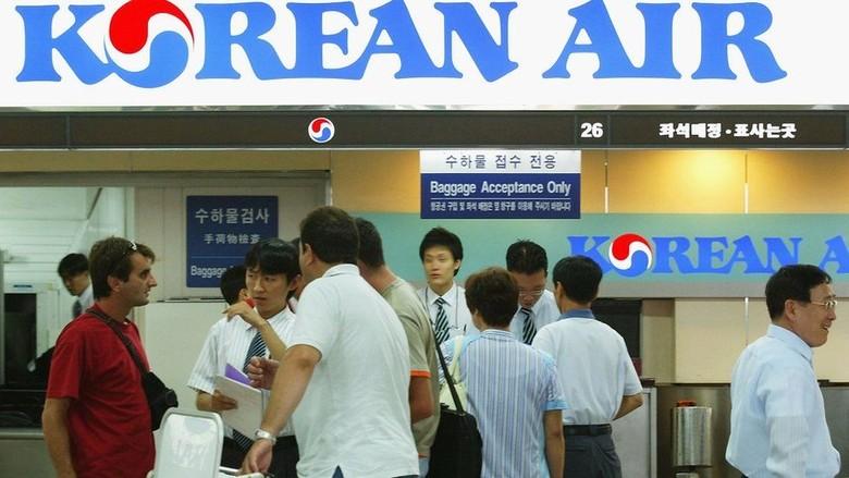 Insiden Siram Air, Wakil Presiden Korean Air Diberhentikan Sementara