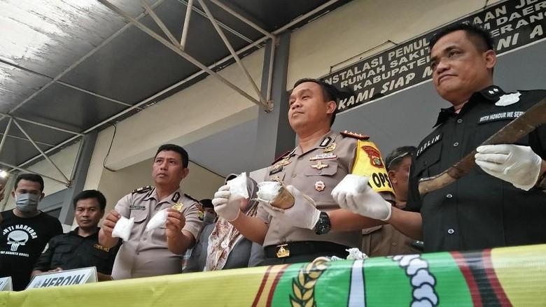 Polisi Tembak Mati Bandar 1 Kg Heroin di Tangerang
