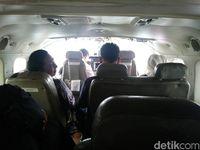 Di dalam pesawat Susi Air