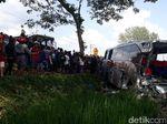 Sopir Bus Mira Ditetapkan Tersangka Kecelakaan Frontal di Ngawi