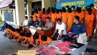 Maling Bel Andong Hingga Pembobol Rumah Polisi Diciduk di Yogya