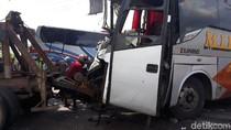 Ini Cerita Penumpang Sebelum Bus Eka Adu Muka dengan Mira di Ngawi