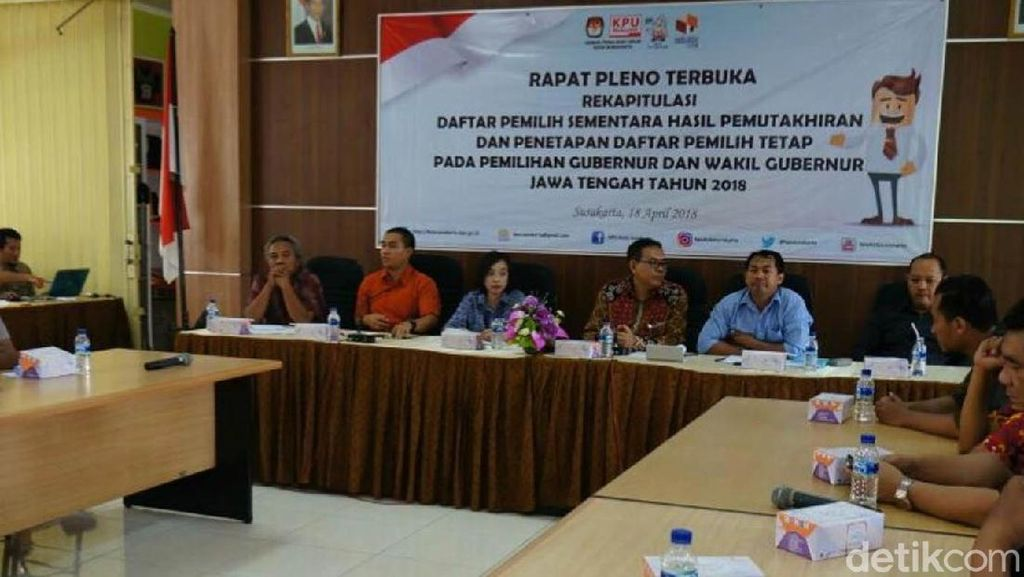 Belum Sempurna, Panwaslu Minta KPU Surakarta Perbaiki DPT