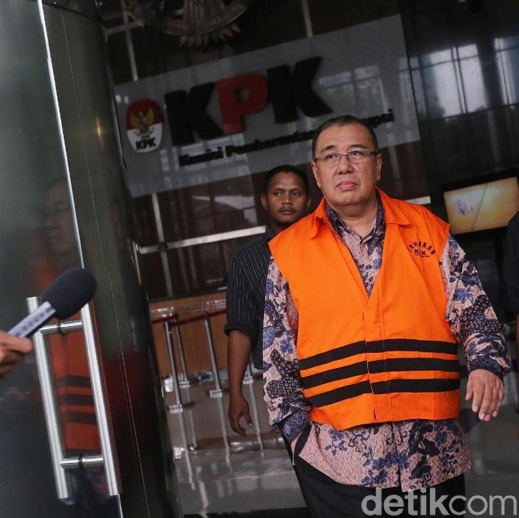 Praperadilan Cagub Sultra Ditolak, KPK Limpahkan Berkas Penyuap