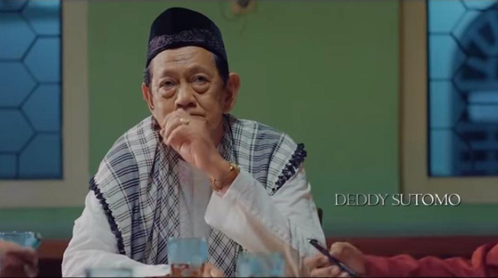 Pemakaman Deddy Sutomo Diiringi Hujan, Anak: Selamat Jalan Jenderal!