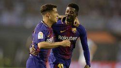 Setelah 13 Laga, Dembele Akhirnya Bikin Gol di La Liga