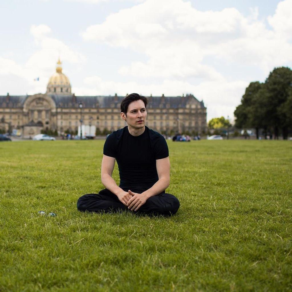 Pavel Durov Rela Telanjang Bela Telegram