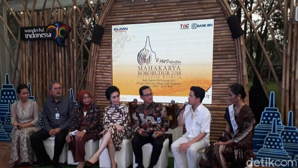 Batik Masa Lalu, Kini dan Masa Depan Ditampilkan di Borobudur