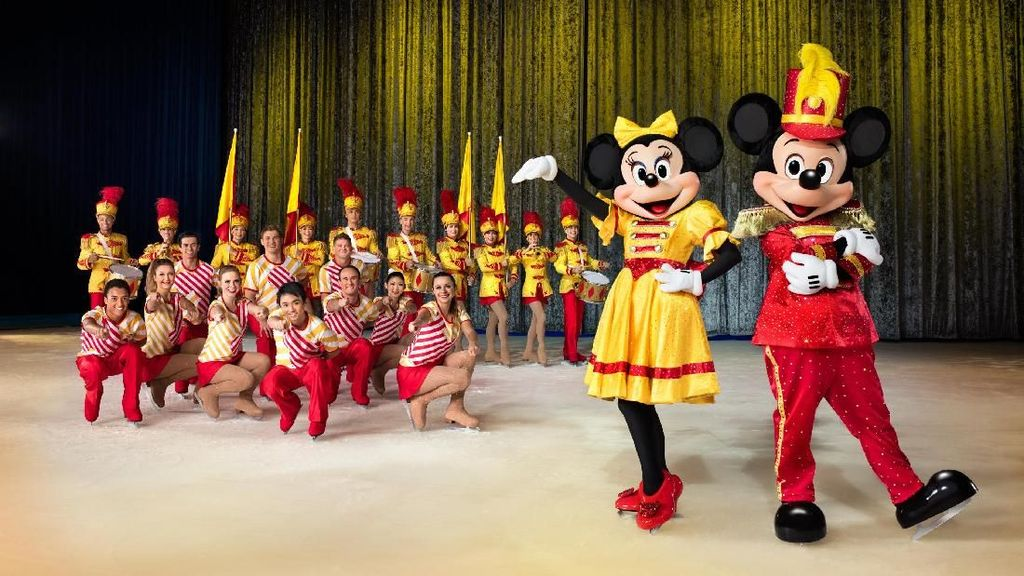 Intip Keseruaan 50 Karakter Disney on Ice