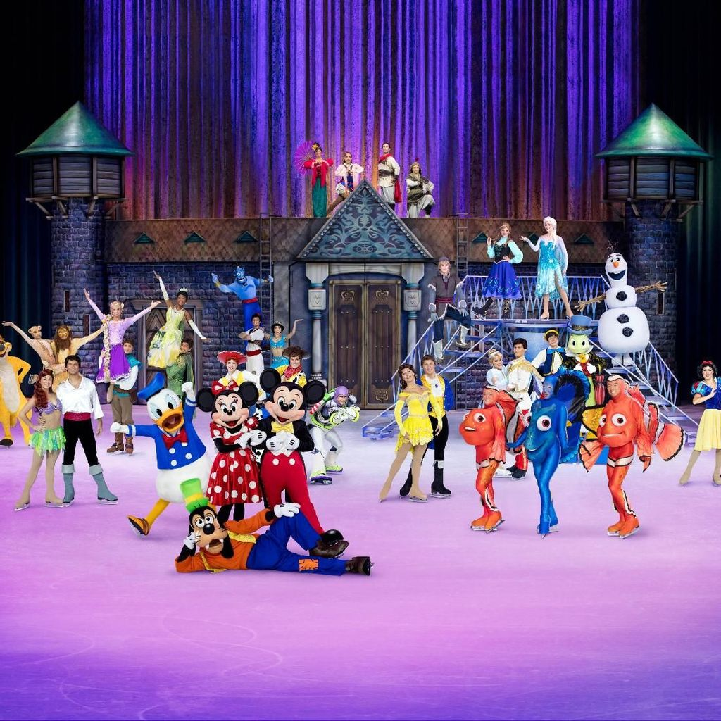 Disney on Ice Rayakan 50 Tahun Minnie dan Mickey Mouse