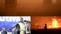 Riuh Dunia dalam Gambar: Mesin Pesawat Meledak, Badai Pasir Iran
