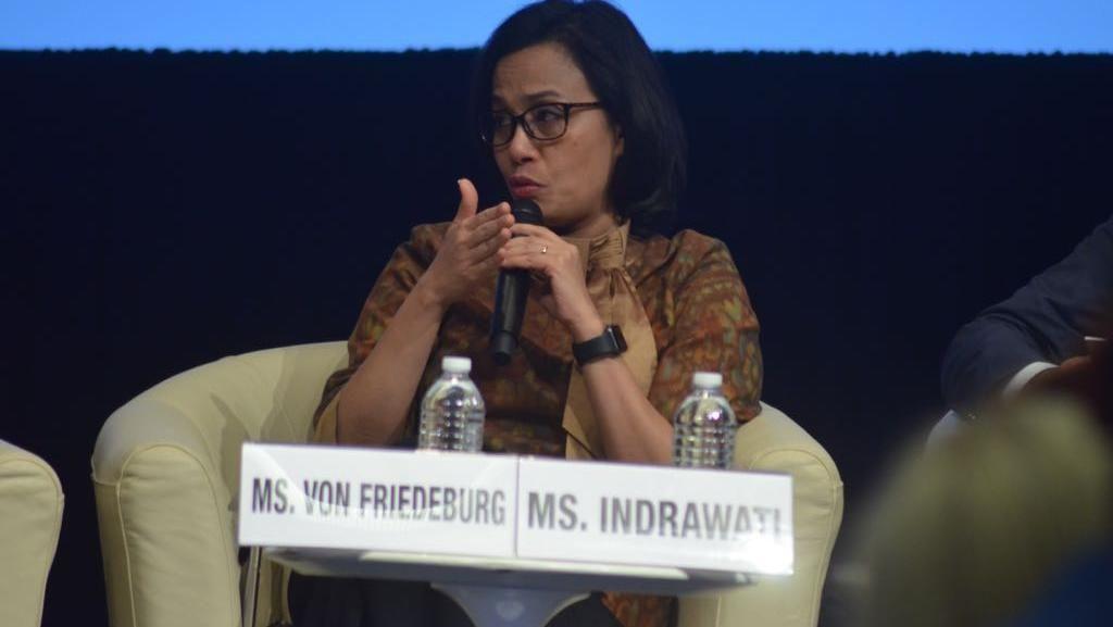 Di AS, Sri Mulyani Pamerkan RI Punya Obligasi Ramah Lingkungan