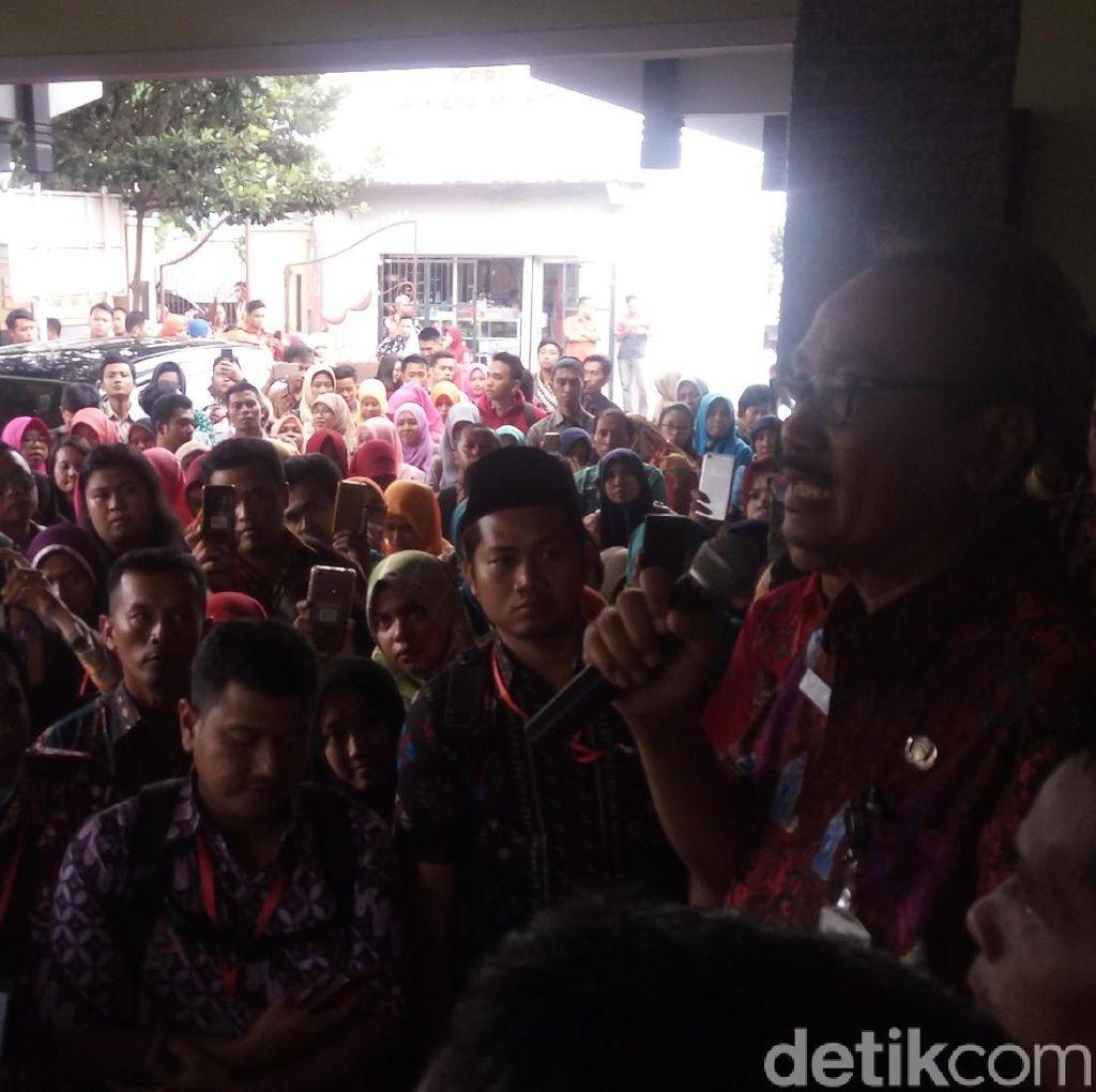 Ratusan GTT/PTT di Kabupaten Semarang Aksi Tagih Janji SK