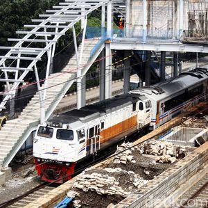 Penampakan Terkini Pembangunan Stasiun Klender