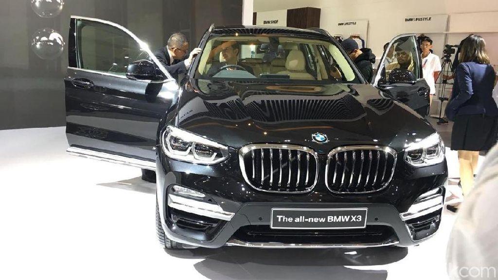 BMW Pamer X3 ke Publik di IIMS 2018
