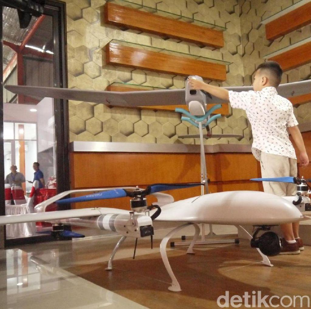 Pabrik Drone Pertama Asia Tenggara Hadir di Bogor