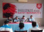 Aliansi Buruh Pelabuhan Deklarasi Dukung Gatot Capres 2019