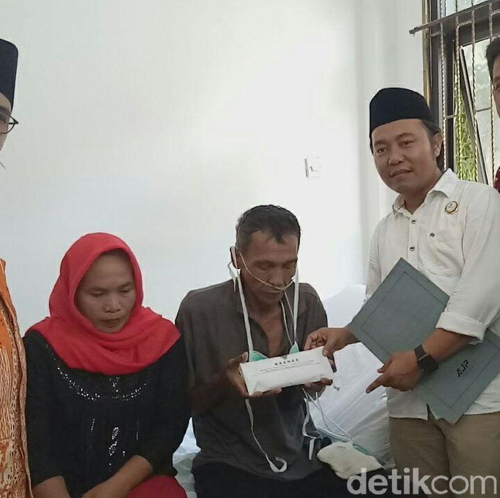 Alhamdulillah, Utang Pria yang Jual Ginjal di Banyuwangi Lunas