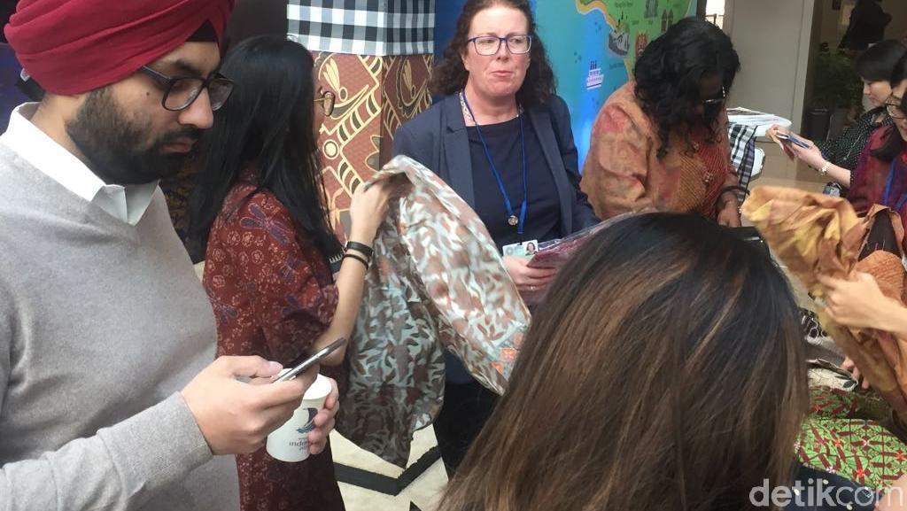 Batik dan Kopi RI Diserbu Peserta Spring Meeting IMF-World Bank di AS