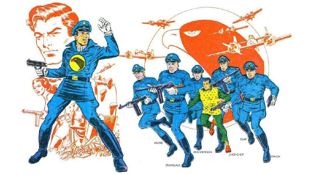Steven Spielberg Garap Blackhawk DC Comics